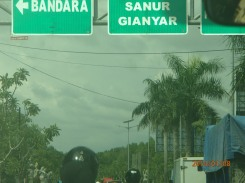 Riding around and gettin it in Bali....headed towards Sanur