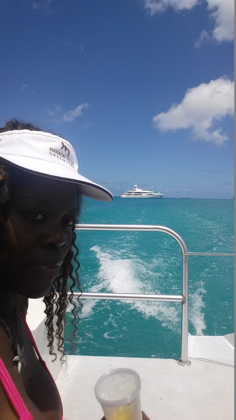 Do you see my yacht?