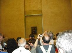Ahhh the Mona Lisa, The Louvre