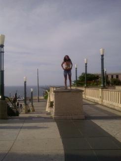 My daughter in Puerto Rico