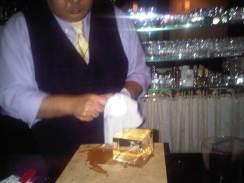 Bartender at the Star Bar Ginza