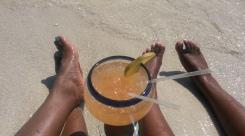 chillin' beachside