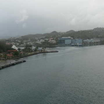 Rainy day in St. Lucia