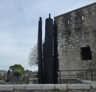 Sculpture in Saint-Paul