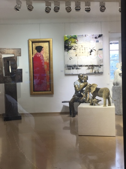 Gallery in Saint-Paul